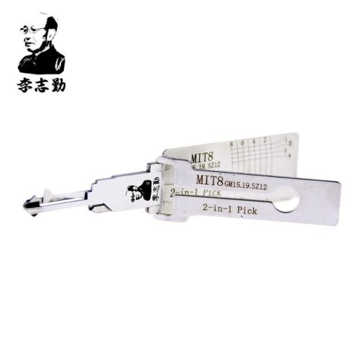 Classic Lishi MIT8 (GM15/GM19/SZ12) 2in1 Decoder and Pick