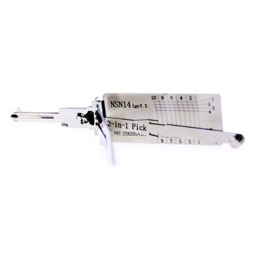 Classic Lishi NSN14 (Ignition) 2in1 Decoder and Pick