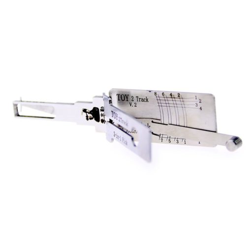 Classic Lishi TOY 2Track 2in1 Decoder and Pick