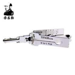 Classic Lishi TOY43R 2in1 Decoder and Pick